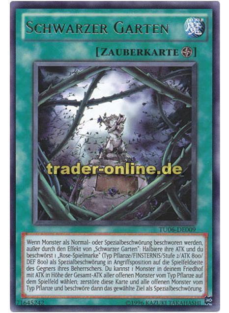 Schwarzer Garten Trader Onlinede Magic Yu Gi Oh Trading Card