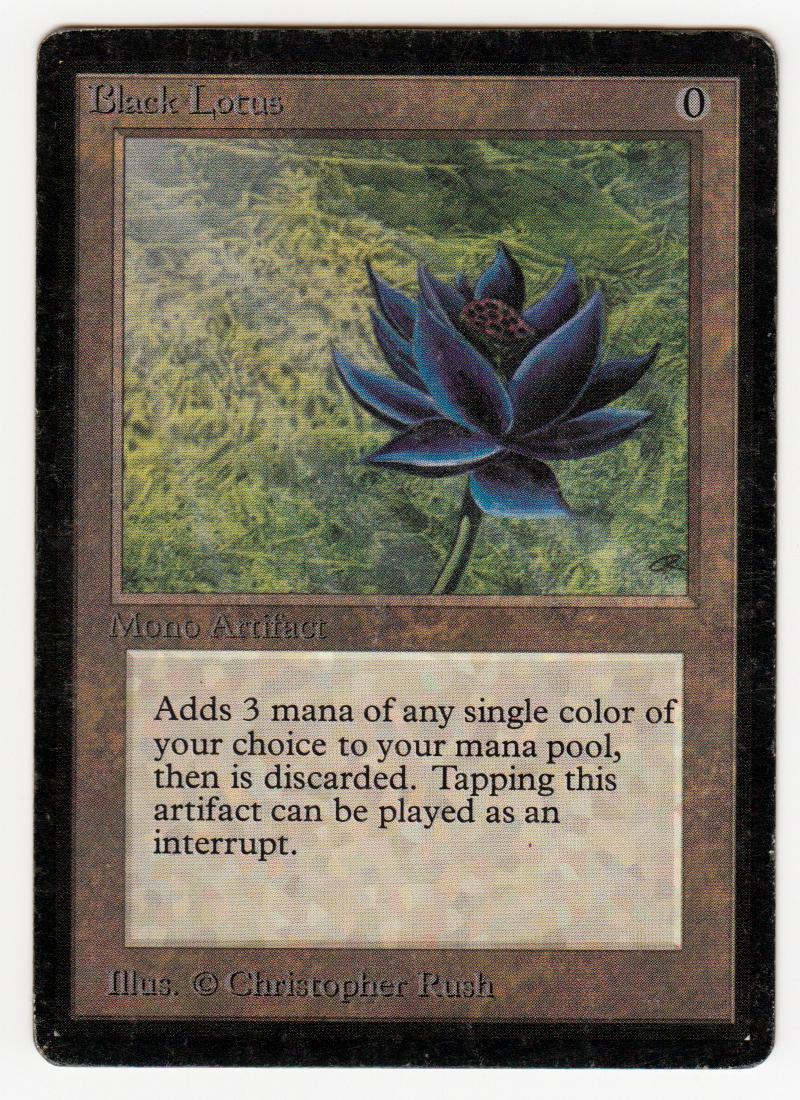 Black Lotus Deutsch
