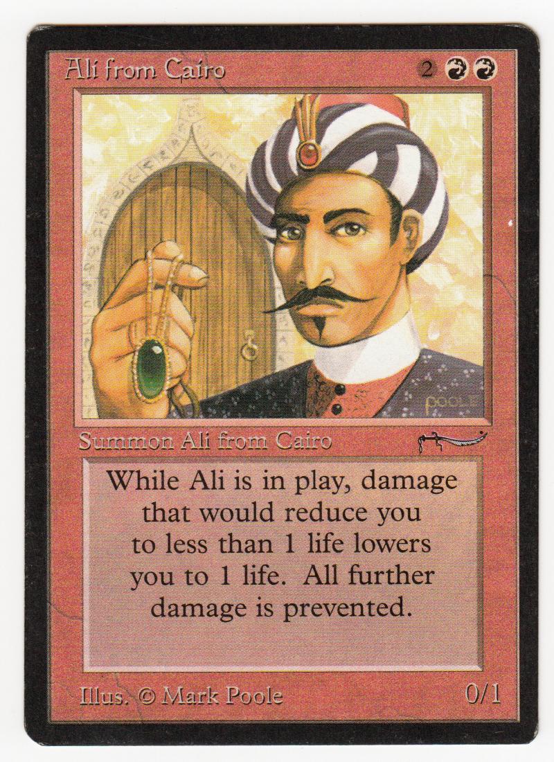 Ali from Cairo Magic Arabian Nights Original Scan 16l359