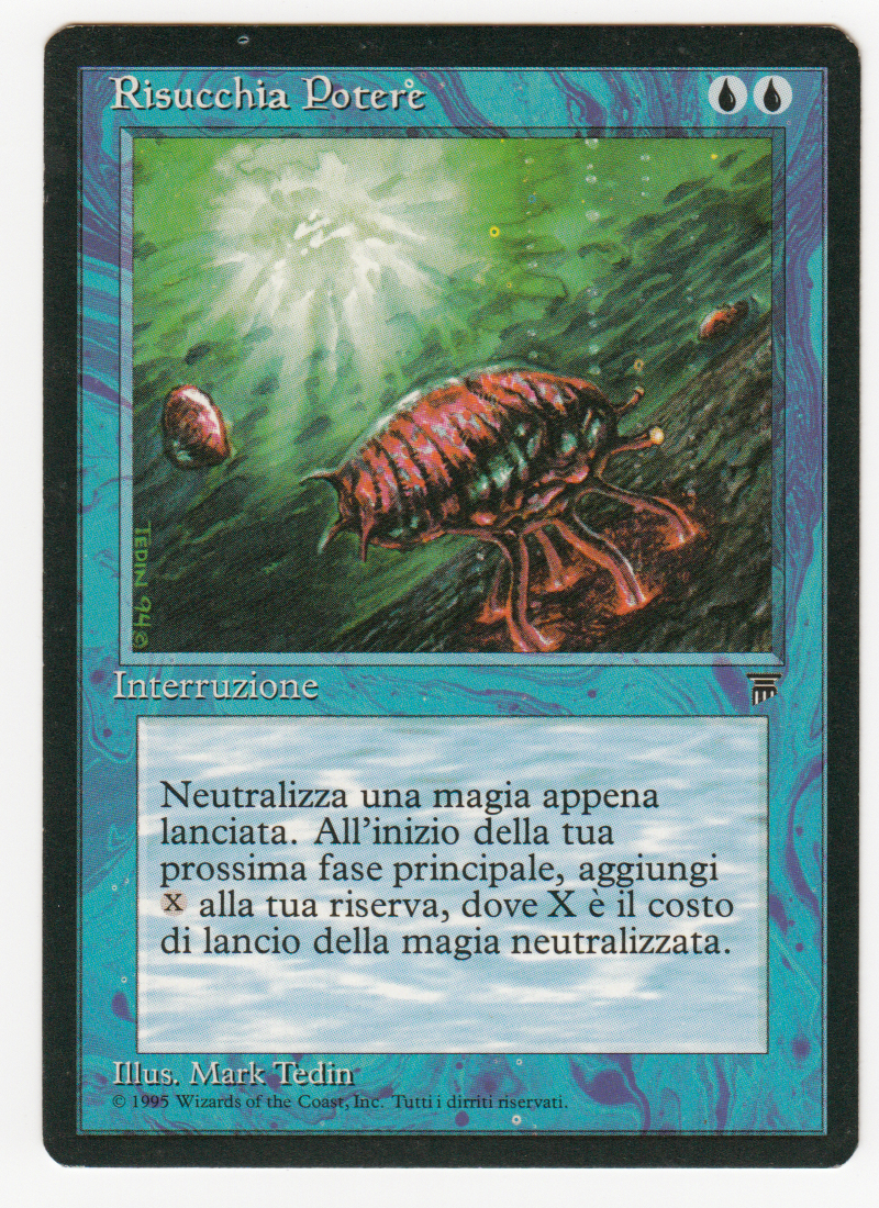 'manasauger' magic italienische legenden originalscan 16l503