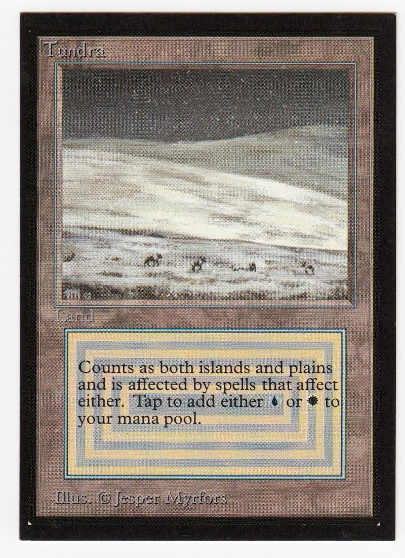 Tundra magie collectors edition ce doppelten boden originalscan 16l537
