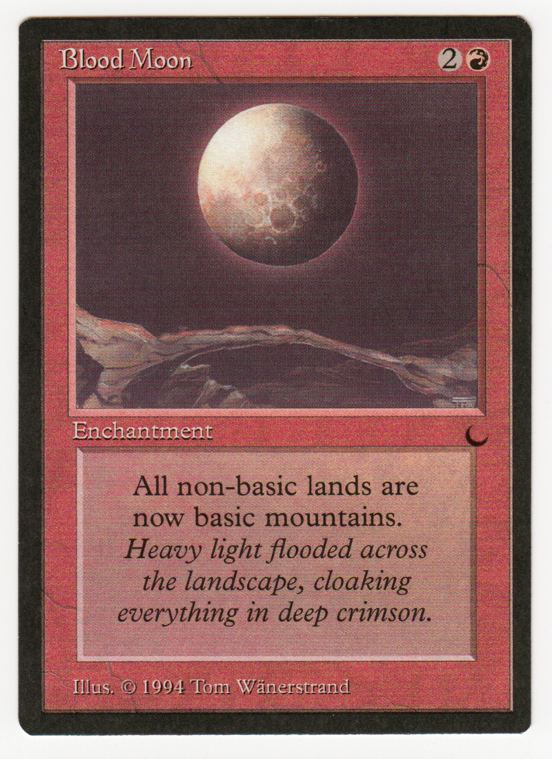 Blood Moon Magic english The Dark original Scan 16L601