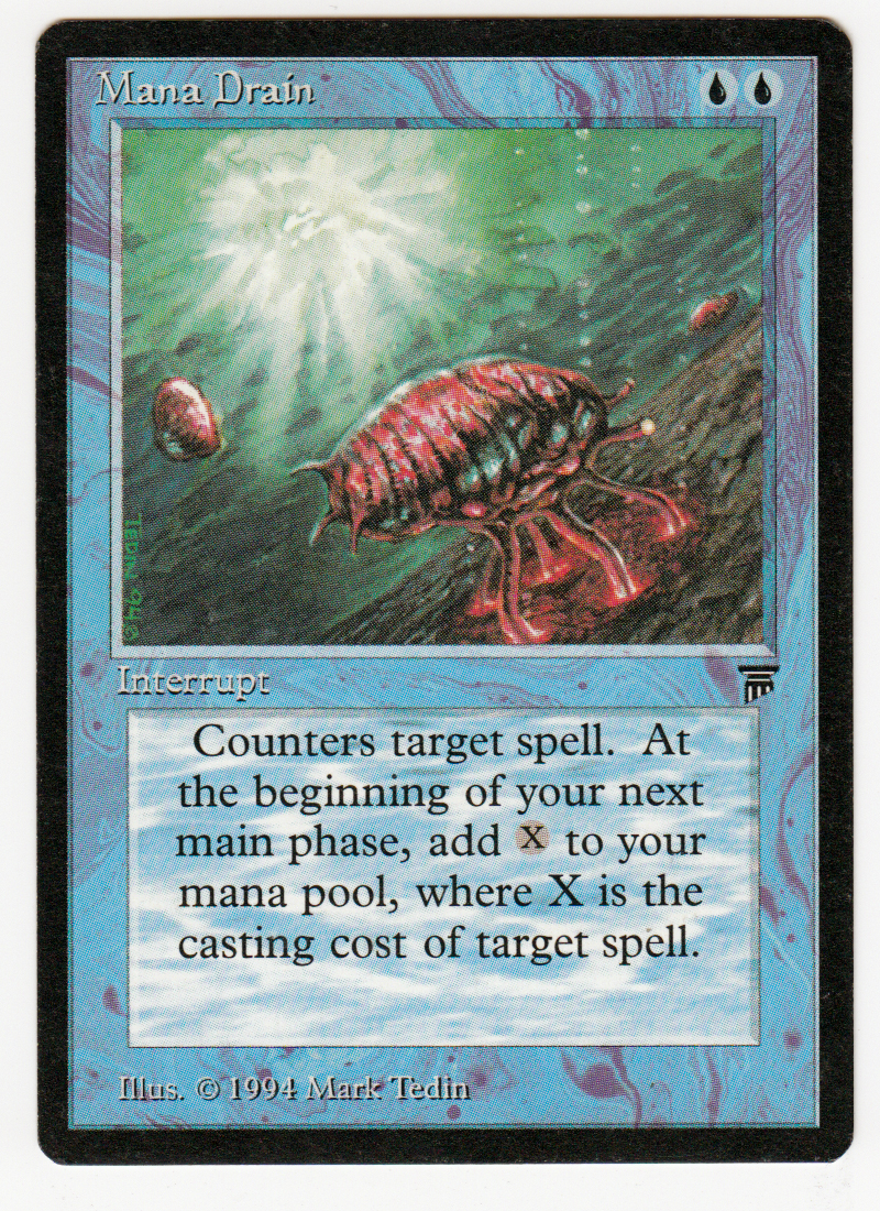 'manasauger' magic englisch legenden originalscan 16l605