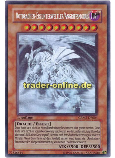 YU-GI-OH Rotdrachen Erzunterweltler Rare TU06