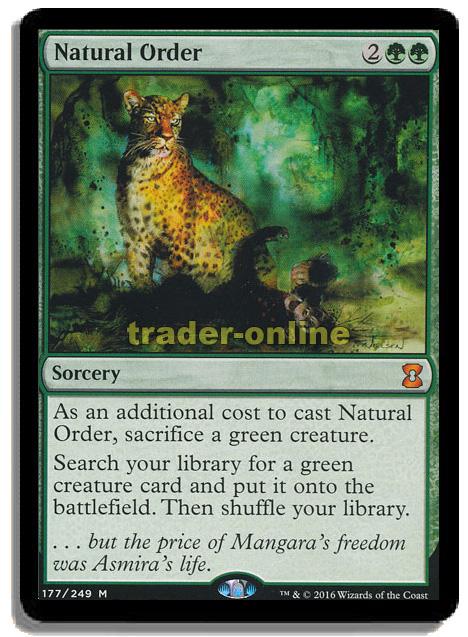 - Visions MtG, Magic the Gathering Natürliche Ordnung Natural Order