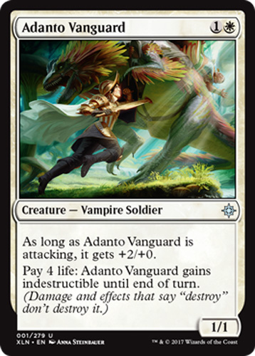 Ixalan Magic Adanto-Vorhut 2x Adanto Vanguard