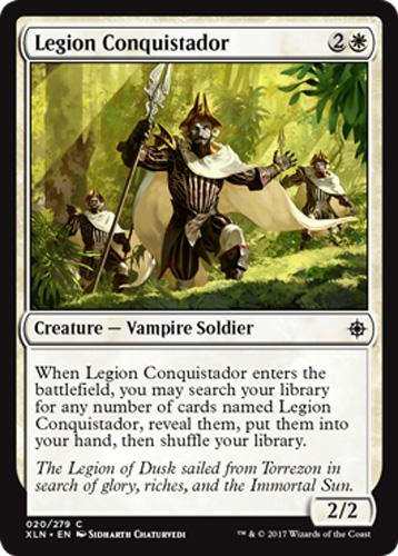 Ixalan Magic 4x Legion Conquistador Konquistador der Legion