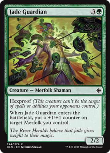 Jadewächter 4x Jade Guardian Ixalan Magic