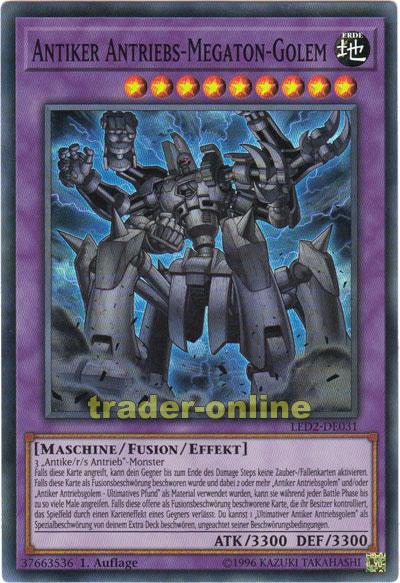 Antiker Antriebs Megaton Golem Trader Online De Magic