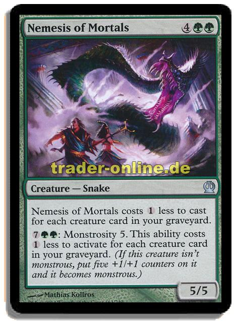 nemesis of mortals traderonlinede magic amp yugioh